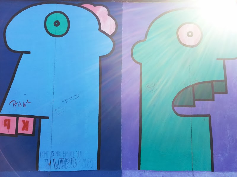 Some heads by Thierry Noir
