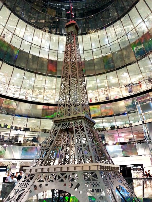 Eiffel Tower inside Mall in Berlin