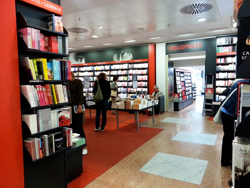 Largest bookstore in Berlin