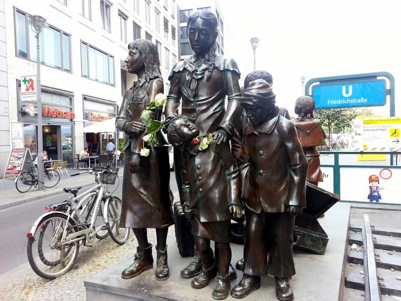 Monument of children in Berlin