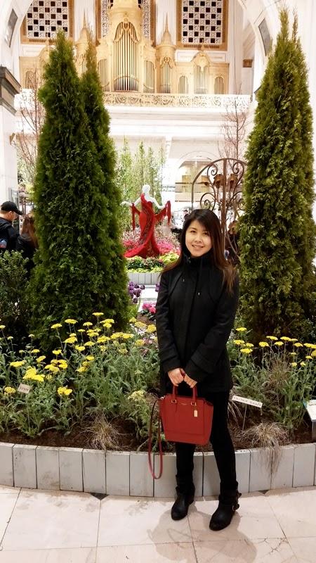 Macy's flower garden