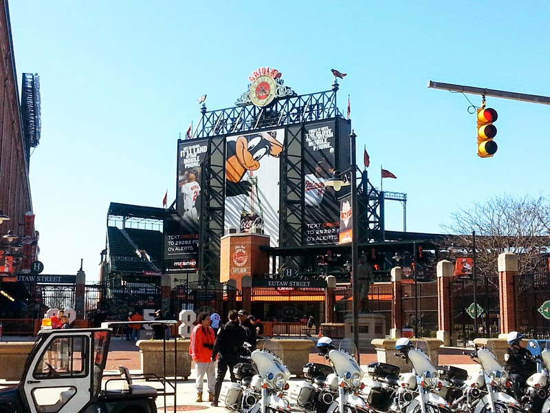 Baltimore baseball stadium