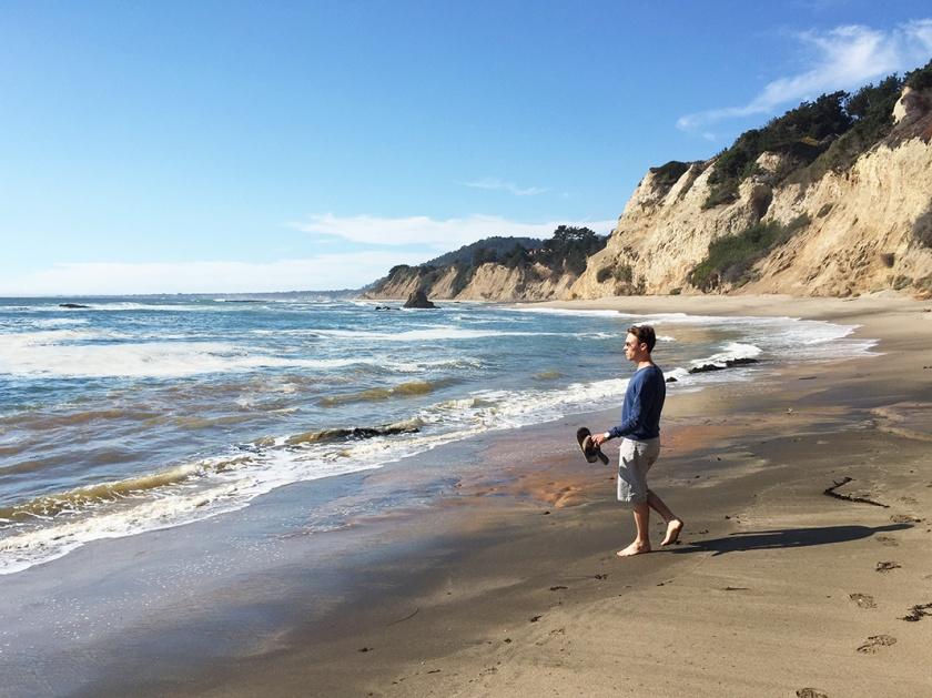 beaches on San Francisco coastal drive