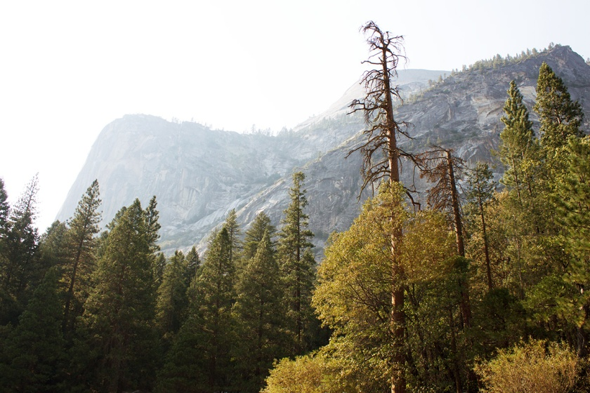 Mountains in Yosemite